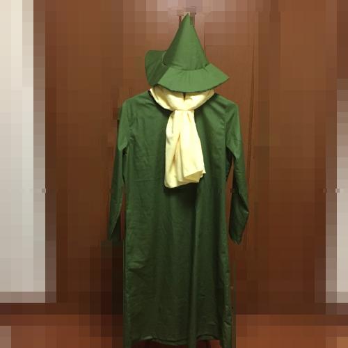 スナフキン風の衣装